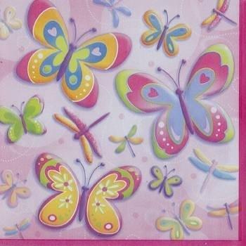 Vlinder/Libelle Servet