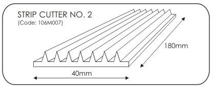 JEM Strip Cutter No. 2 -5mm-