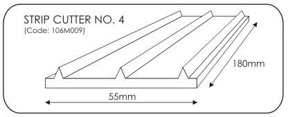 JEM Strip Cutter No. 4 -23mm-