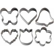 Wilton Mini Metal Romantic cutter set/6