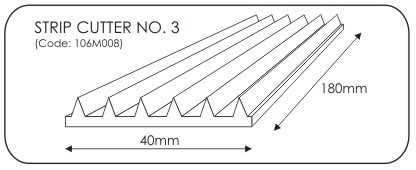 JEM Strip Cutter No. 3 -7mm-