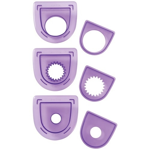 Wilton 3-Pc. Layered Circles Cutting Insert Set