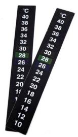 Zelfklevende thermometer (10 tot 40 graden C)