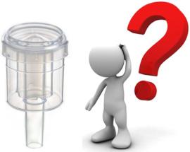 Waarom potten met een waterslot?