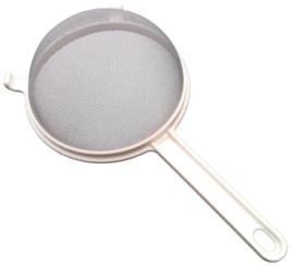 Kunststof bolzeef, diameter 18 cm (melkkefir)