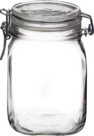 Bormioli kleine weckpot - 1.0 liter