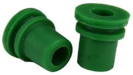 Siliconen plug voor waterslot