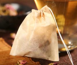 Papieren thee- en kruidenzakjes