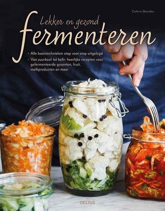 """Boek: """"Lekker en gezond fermenteren"""" van Cathrin Brandes"""