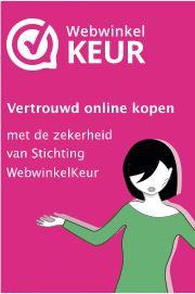 2021 Apr - Zijn aangesloten bij keurmerk WebwinkelKeur