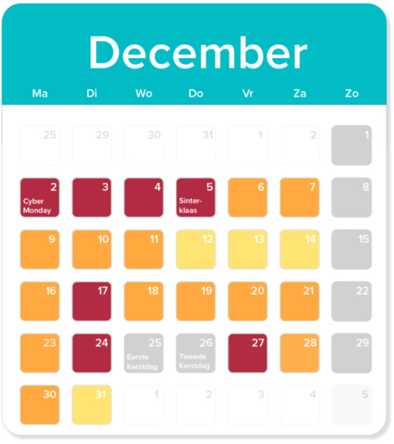 2019, December - Postdrukte in december