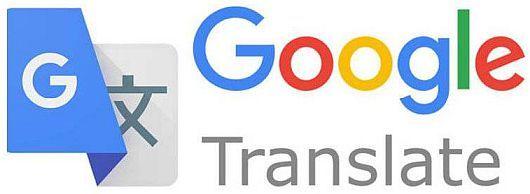 Online translation into several languages