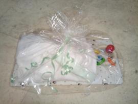 LPC-Kraampakket-Unisex Boxpak Little Stars- White-Mint