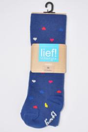 Maillot  jeansblauw met hartjes- Ewers/Lief- Blue