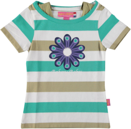 Bakery Babes-Girls Shirt Cornflower- white