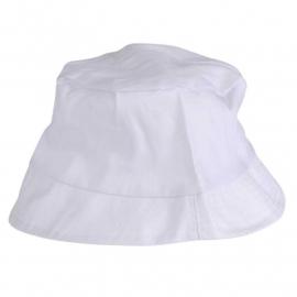 Zonnehoed, afm 54 cm, wit