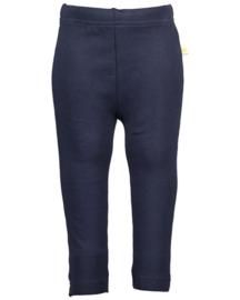 Blue Seven-Baby Girls knitted leggings-Dk Blue orig