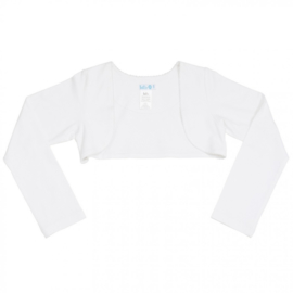 LoFff-Girls Basic Bolero- White
