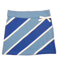 LoFff-Girls Skirt diagonal- Blue