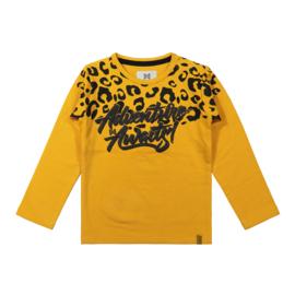 Koko Noko-Girls T-shirt ls-Ochre