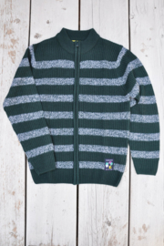 Boys Cardigan- Blue Seven- Green