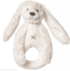 Unisex Rabbit Richie Rattle- Happy Horse- Ivory