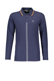 Bellaire-Boys Teens Kolo ls polo- Navy