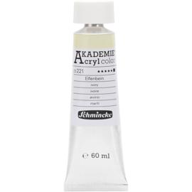 Acryl color-ivory (221)-opaque, extr. fade resistant, 60ml-Schmincke AKADEMIE