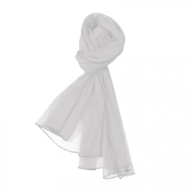 Girls Netted scarve-LoFff-White