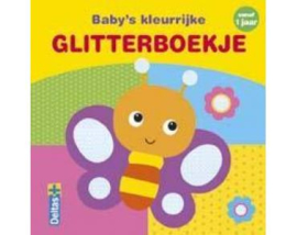 Deltas-Babys kleurrijke glitterboekje- Multi Color