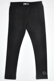 Girls Legging full length- LoFff- Black