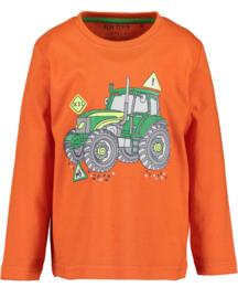 Blue Seven-Kids Boys knitted T-shirt-Orange orig
