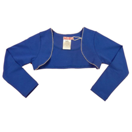 LoFff-Girls Basic Bolero- Ocean blue