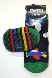 Boys Stoppi Vliegtuig-Ewers-Multi Color-maat 18