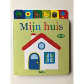 C.W.-Kartonboek Mijn Huis-Multi Color