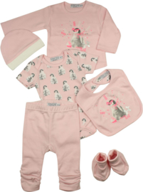 Baby Girls giftset- Dirkje- Light Pink