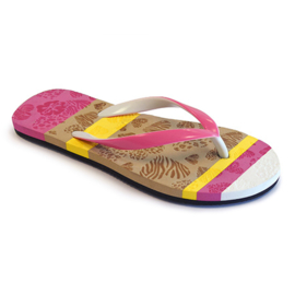 Girls Flip Flop with profiled insole- Libaco- Fuchsia-maat 35 t/m 37