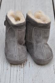 Unisex Baby Laarsjes-LPC-Grey- maat 16 en 18