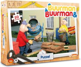 Just Games-Buurman & Buurman puzzel 50 stukjes-Multi Color