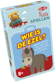 Wie Is De Ezel? - Reisspel-Tactic Games-Multi Color