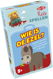 Wie Is De Ezel? - Reisspel-Tactic-div kleuren