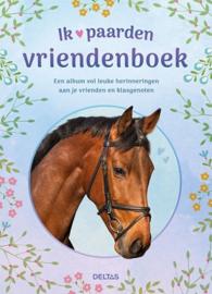 Ik hou van paarden vriendenboek- Groothandel C- div kleuren