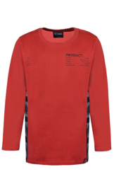 Boys T-Shirt Fulton 031-D-Xel-Red