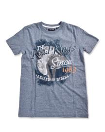 Boys Shirt- Blue Seven- Blue