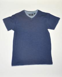 Boys T-Shirt V hals- Blue Seven- Blue
