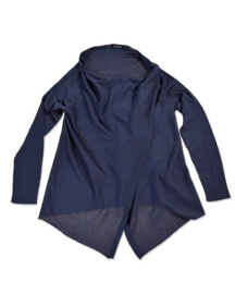 Girls Cardigan- Blue Seven- Blue