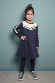 Girls Dress with stars - DJ Dutch Jeans-Navy