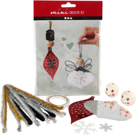 C.W-Creative Mini Kit-Hangende decoratie-White