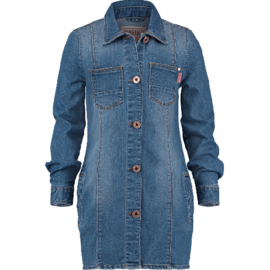 Vingino-Girls Papaya Dress - Old Vintage-Denim