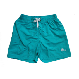 Unisex Zwemshort Coconut LB-Just Beach- Light blue